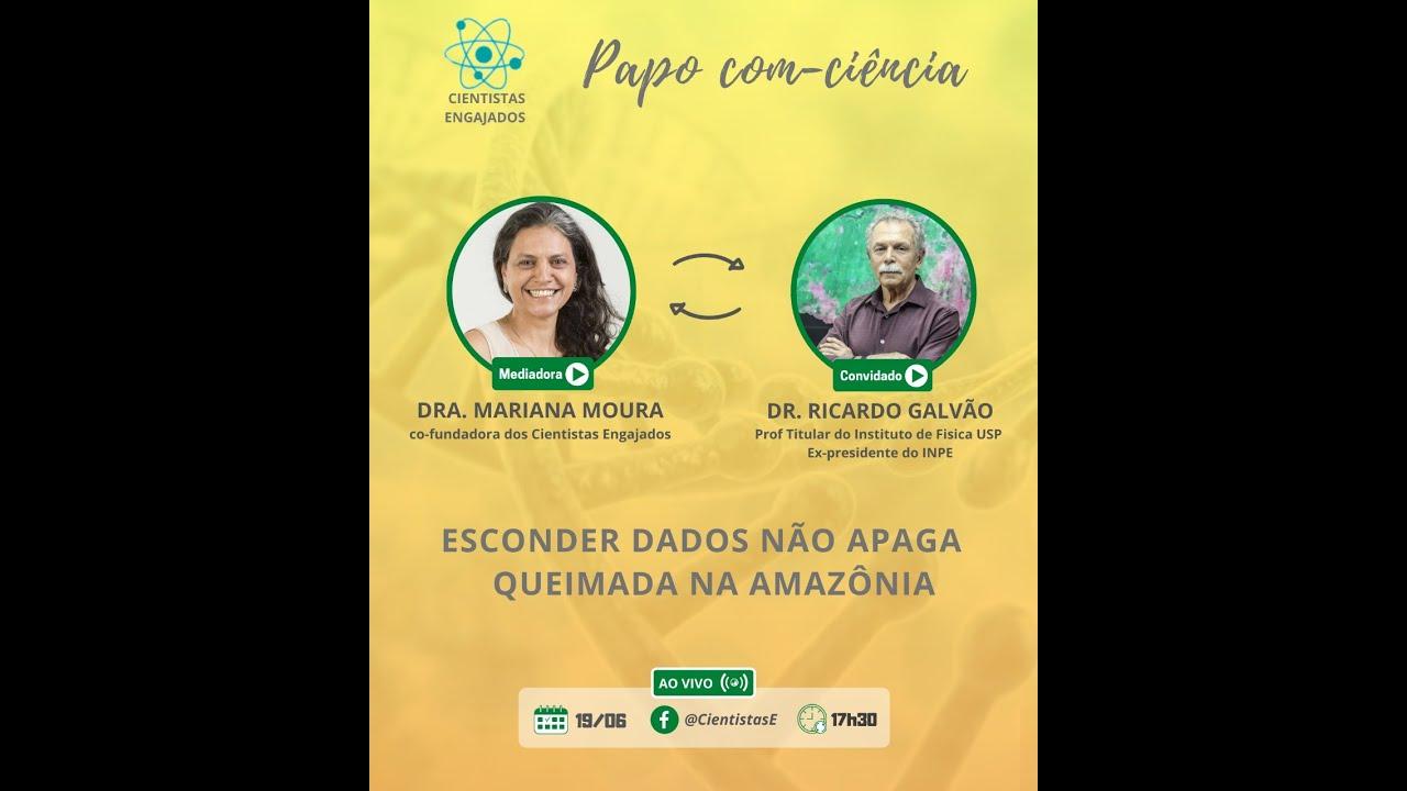 Papo Com Ciência - Live 8 - Dr. Ricardo Galvão (19/06/2020)