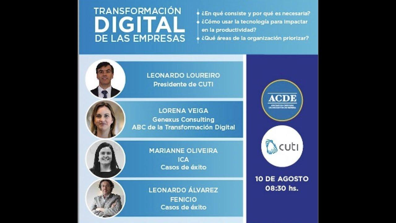 Panel sobre transformación digital de las empresas