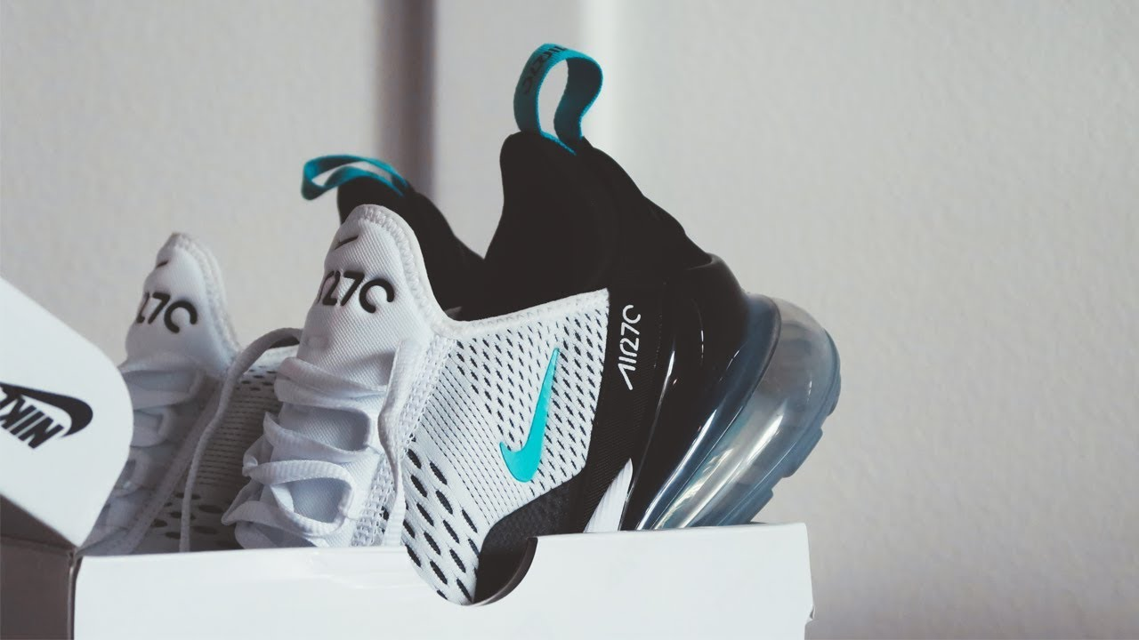 6dcb857d12794b BEST NIKE AIR MAX 270  DUSTY CACTUS UNBOXING REVIEW - YouTube