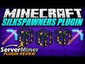How to mine spawners in Minecraft with SILKSPAWNERS Plugin