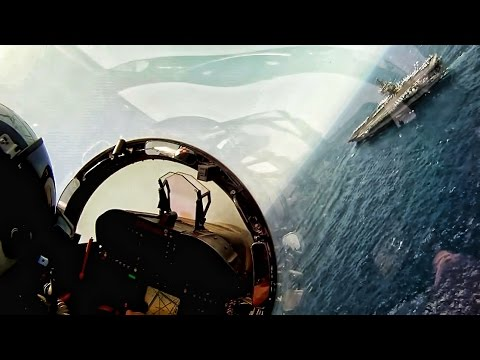 Pilot Cockpit Video • US Naval Aviators