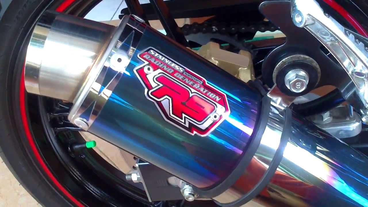 Vixion With Knalpot R9 Bandung Assen Yamaha Old New Nvl Full System