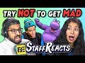 TRY NOT TO GET MAD CHALLENGE #2 (ft. FBE Staff)