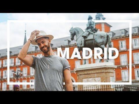 ASÍ SE VIVE EN MI CIUDAD: MADRID 😍 4K | enriquealex