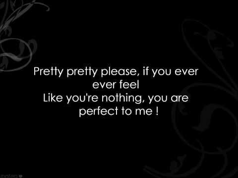 P!nk - F***in' Perfect (clean) LYRICS