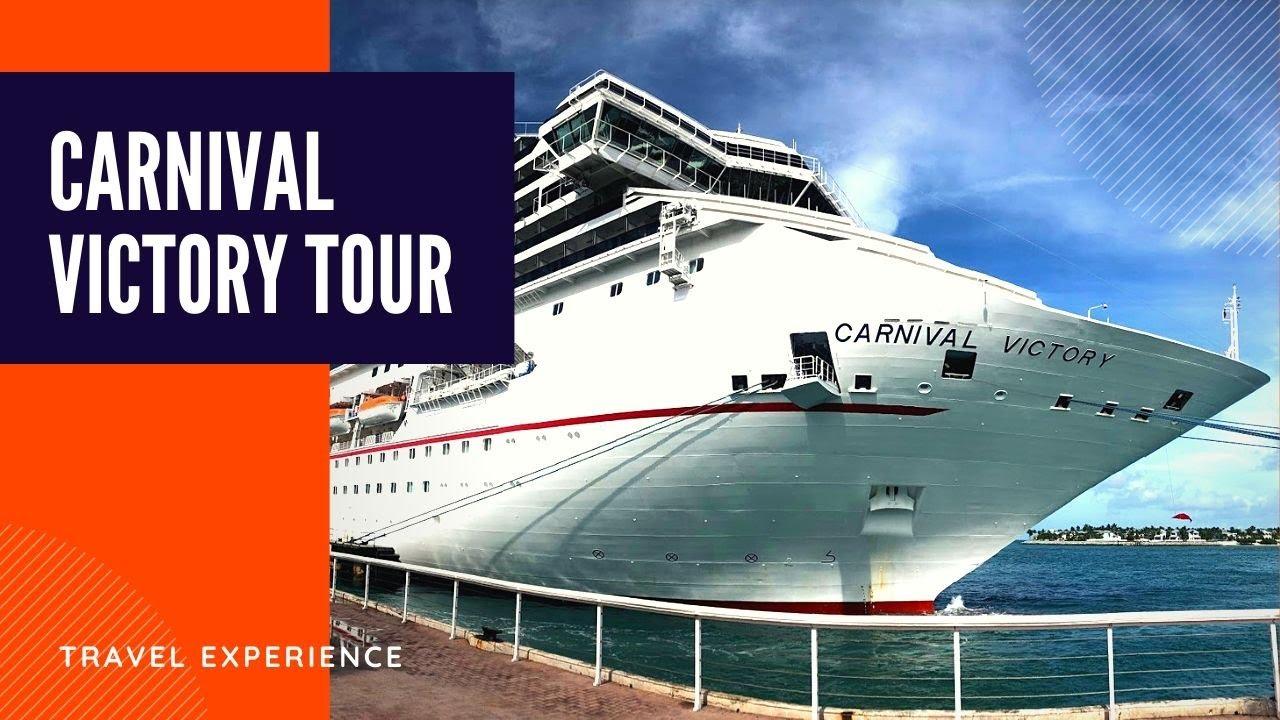 Carnival Victory Cruise Ship Tour