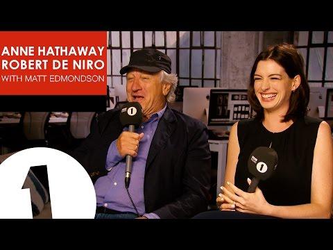 Anne Hathaway & Robert De Niro with Matt Edmondson