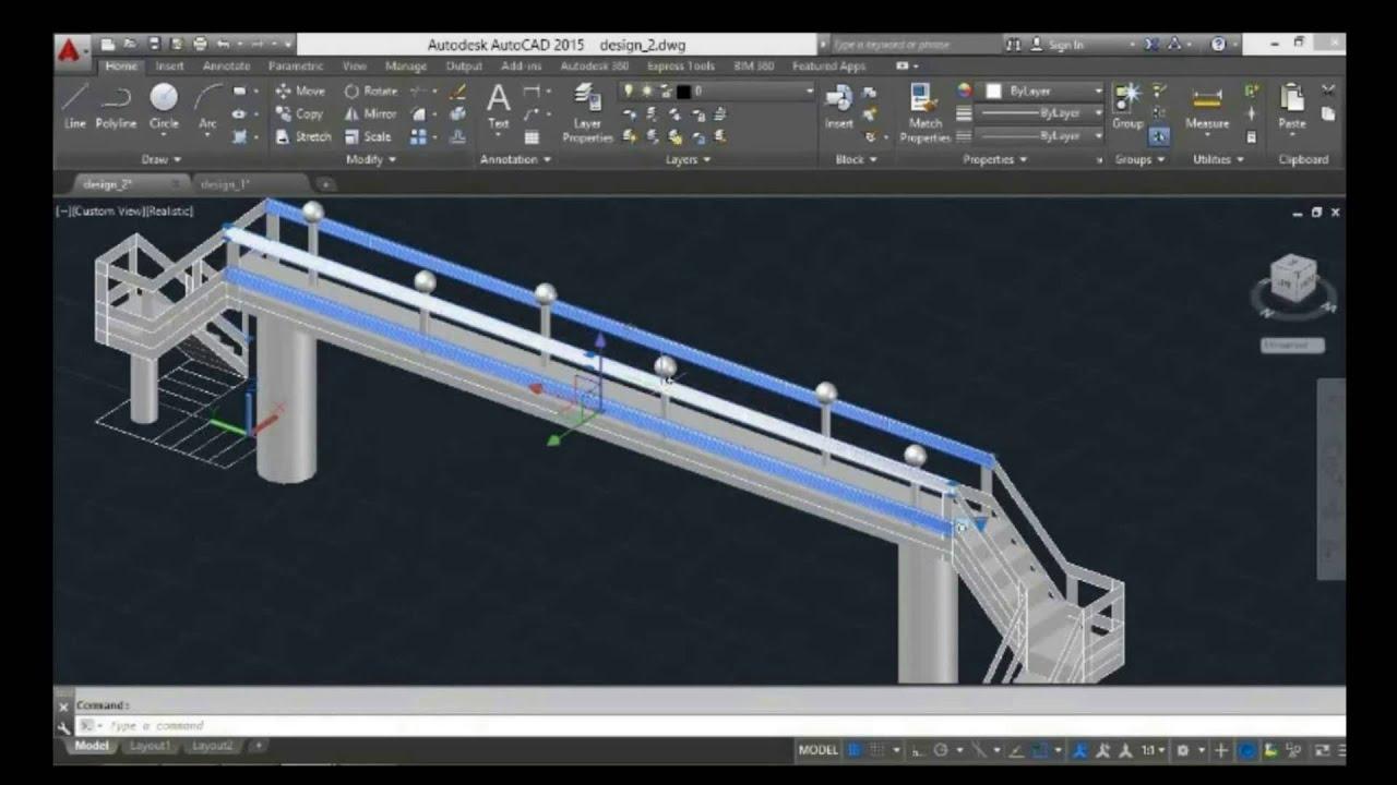 Free Bridge Cad Design
