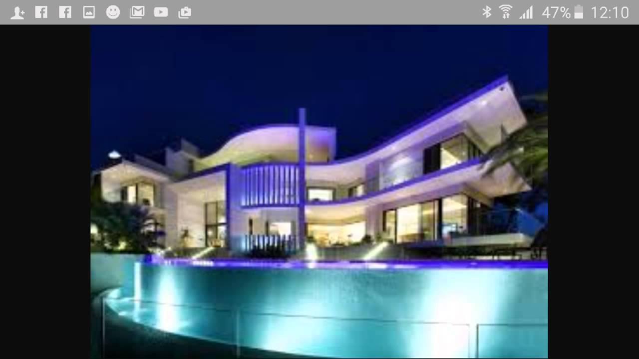 Top 10 Modern Houses - YouTube