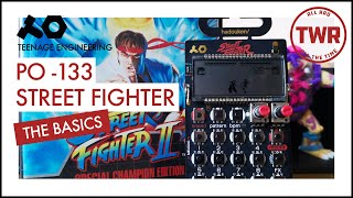Teenage Engineering Pocket Operator Street Fighter PO 133 Capcom - Review for beginners. The Basics