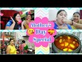 Mother's Day Special Full Day Vlog-Simran's Special Song for me😍 Lunch - Khasi Mangsor Jhol