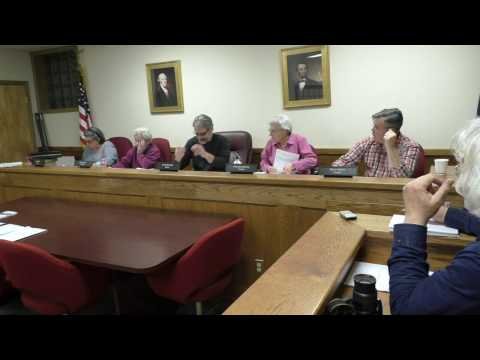Cold Spring Board of Trustees,  February 28, 2017