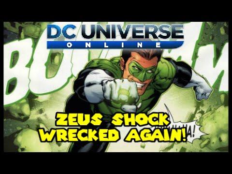 DCUO: Zeus Shock Wrecked Again ON STREAM!