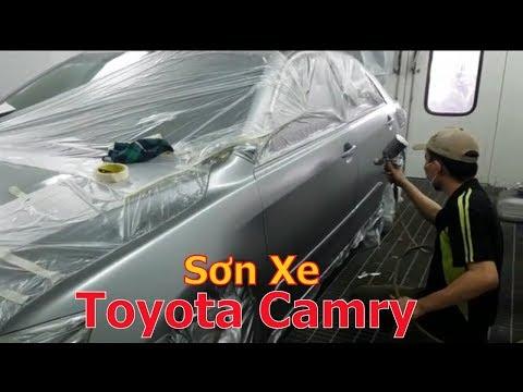 Thợ Sơn Sài Gòn : Sơn Lại Xe Toyota Camry |  Spray Painting