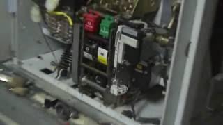 ABB vacuum circuit breaker switchgear VD4 maintenance cement plant part2