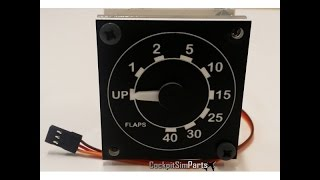 Super simple home cockpit gauges (Cockpitsimparts)