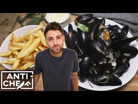 Eat Like a Belgian: Moules-Frites
