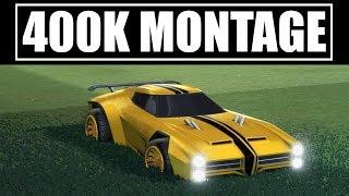 Rocket League | 400K Montage | Best of JHZER