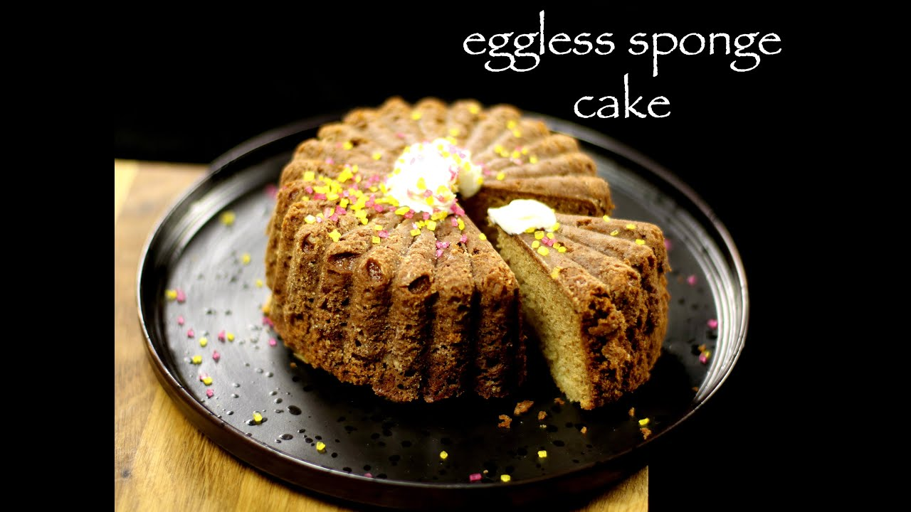 Eggless Vanilla Cake Recipes In Pressure Cooker: Eggless Vanilla Cake Recipe