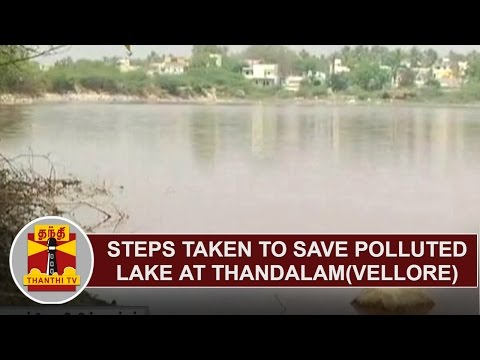 Effect of Thanthi TV Newscast : Steps taken to save polluted lake at Thandalam(Vellore)