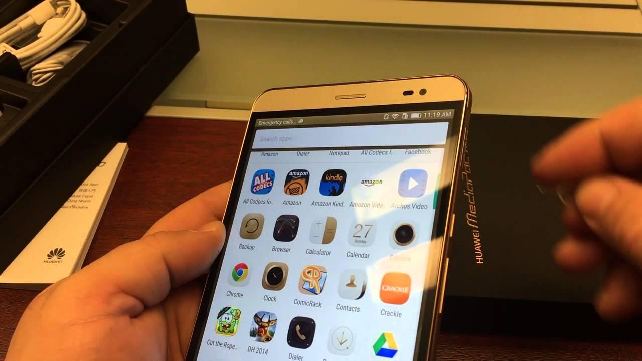 Huawei Mediapad X2 Gold Initial review