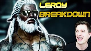 Leroy Trailer Breakdown, Best Tekken Character Design In 15 Years