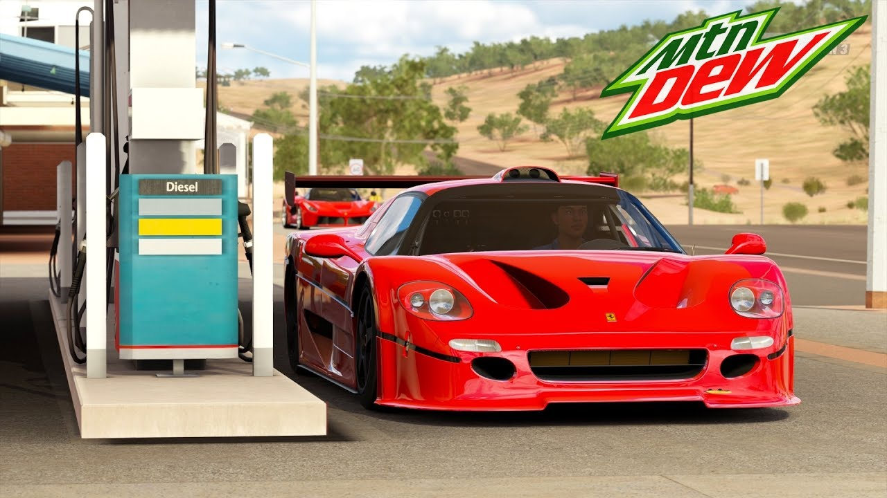 Mitsubishi Eclipse 2016 >> Forza Horizon 3 Ferrari F50 GT Gameplay | Mountain Dew Car ...