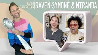 Raven-Symoné & wife Miranda talk dream weddings, coming out, their YouTube Channel 8PM, and MORE!