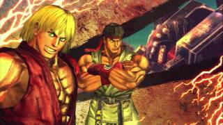 Street Fighter X Tekken - Ken & Ryu Arcade Playthrough | PS3 Gameplay
