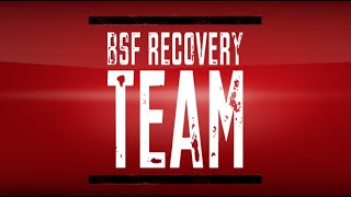 going to digger by bsf recovery team