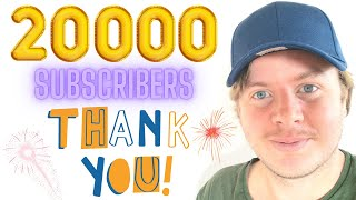Thank You All For 20 000 Subscribers