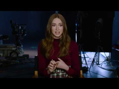 "AVENGERS ENDGAME ""Nebula"" Karen Gillan On Set Interview"