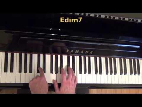Block Chords Jazz Piano Lesson