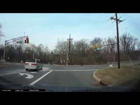Dash Cam Of Washington's Route From Princeton To Morristown