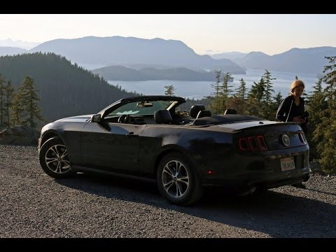 Roadtrip 2014 part I Mustang San Francisco to Bellingham, Ferry Alaska, Inside Passage