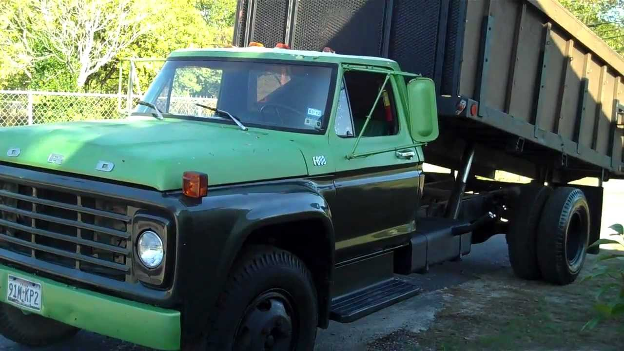 1978 Ford Truck >> 1978 Ford F600 Dump - YouTube