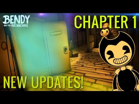 NEW ROOMS & SECRETS! | Bendy & the Ink Machine Chapter 1 - Updates and Changes