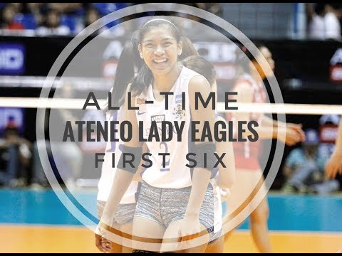 All-Time Ateneo Lady Eagles Starting Six