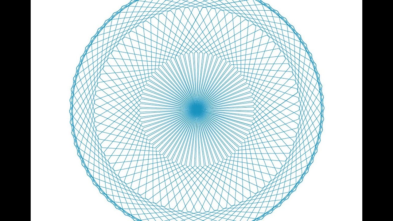 Creating a Spirograph Effect in Adobe Illustrator Part 2