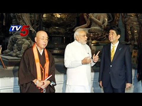 Modi's 2nd Day In Japan | PM to develop Varanasi As 'smart city' on the lines of Kyoto : TV5 News