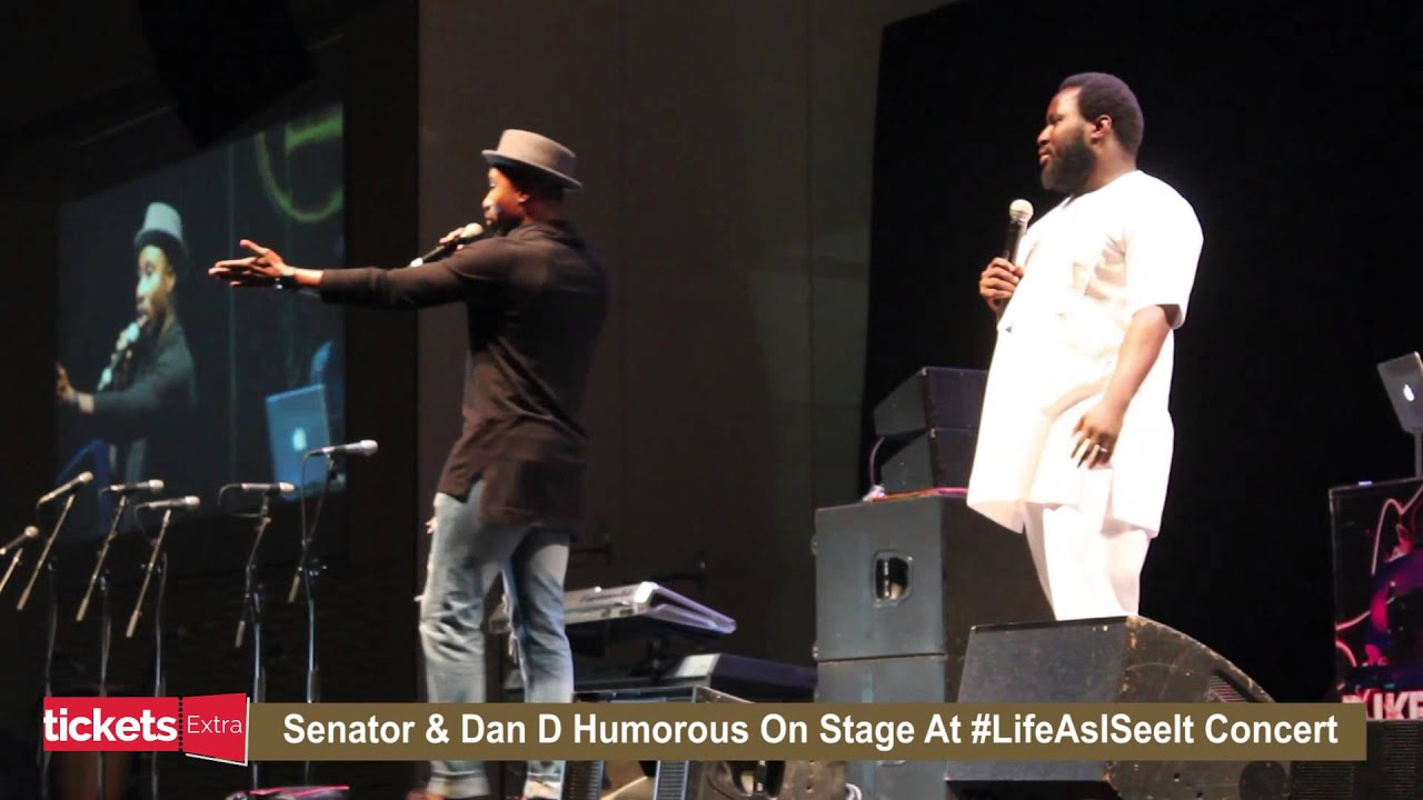 Download Comedians Senator and Dan D Humorous Hilarious Moments at Julius Agwu's Life As I See It Concert