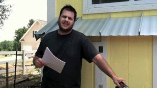 How-to Install A Metal Roof On Your Tiny House (part 1 Of 2)
