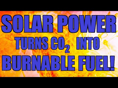 FOR SCIENCE: Sunlight Turns Into Combustible Fuel! (BREAKING NEWS)