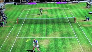 Virtua Tennis 4 (PS3) Becker vs Edberg {VERY HARD} Gameplay [FULL HD]