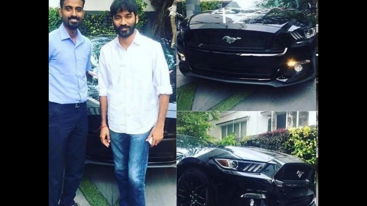 Actor Dhanush New Car Mustang Youtube