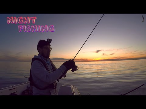 Night Fishing Melbourne | Black Rock Sundown