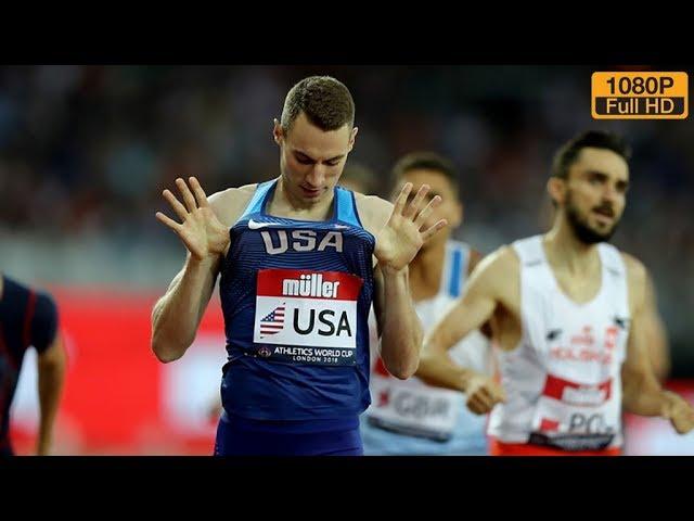 Men's 800m at Athletics World Cup 2018