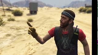 Frankline with a Scientist in GTA V | Game Tricks