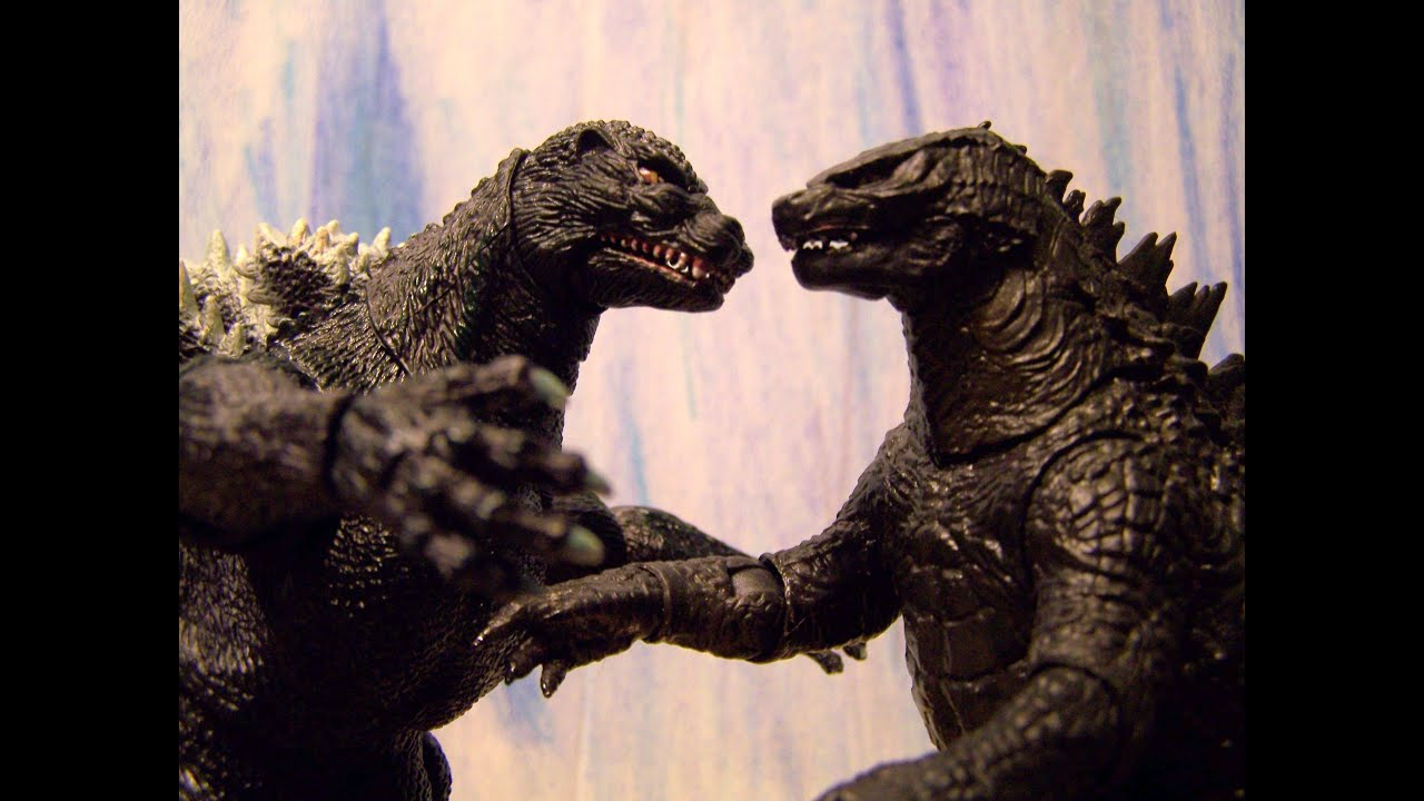 Godzilla 1994 vs Godzilla 2014 | Godzilla vs Godzilla ...