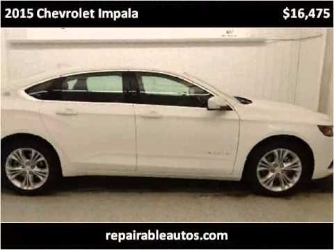 2015 Chevrolet Impala Used Cars Strasburg ND - YouTube